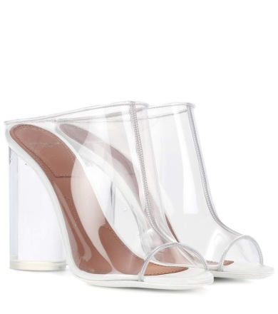 Transparent Mule- Givenchy $895