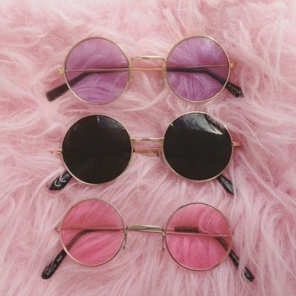 Round Sunnies- Forever 21 $7.90